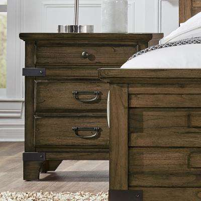 Baltimore Vintage Brown Nightstand