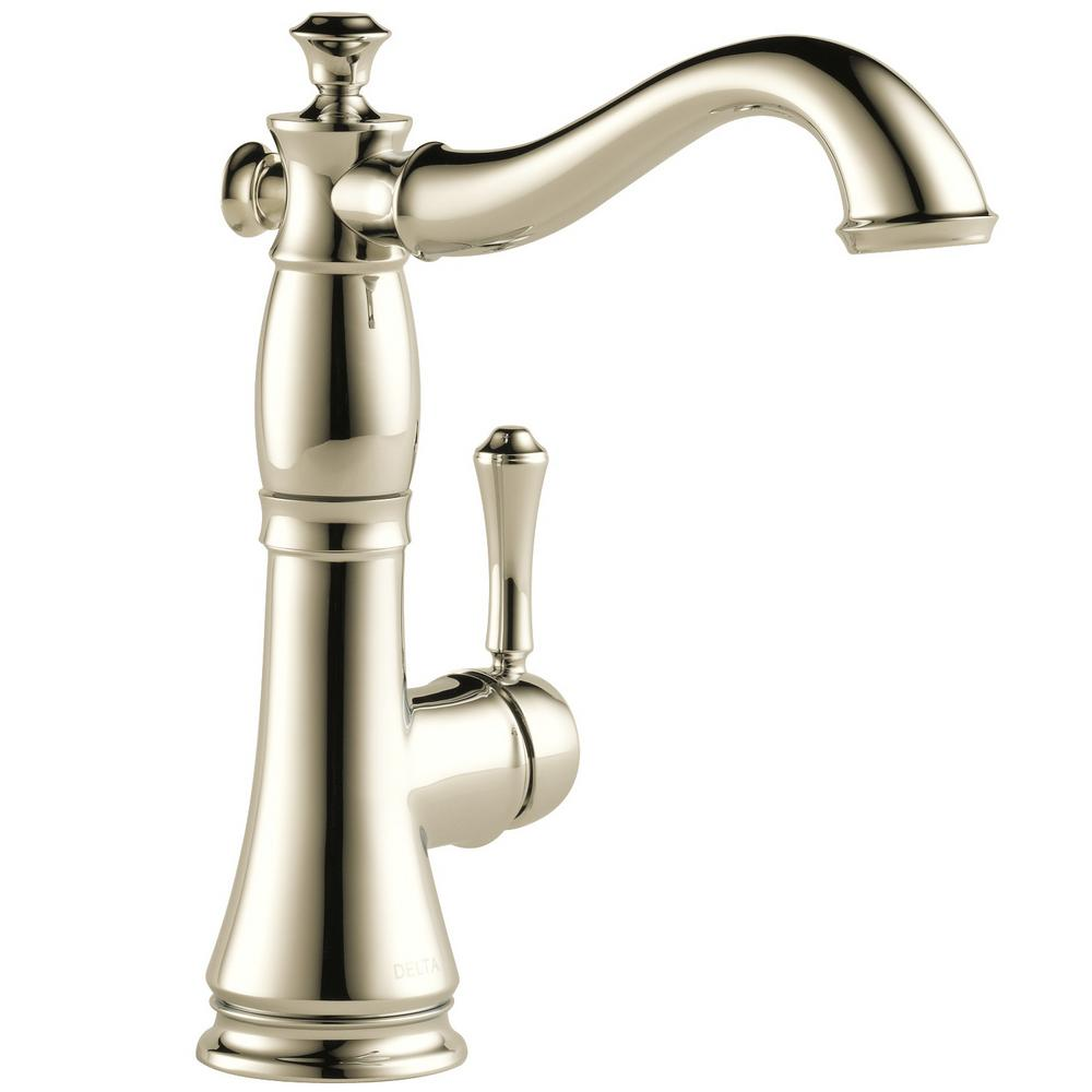 Polished Nickel Single Handle Faucet