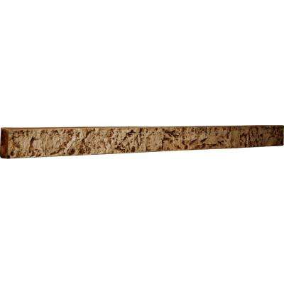 2 in. x 48-1/4 in. x 3 in. Geneva Urethane Universal Trim for Stone and Rock Wall Panels