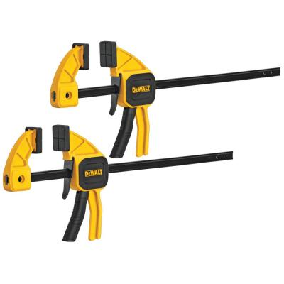 6 in. 100 lbs. Trigger Clamps (2-Pack) with 2.43 in Throat Depth