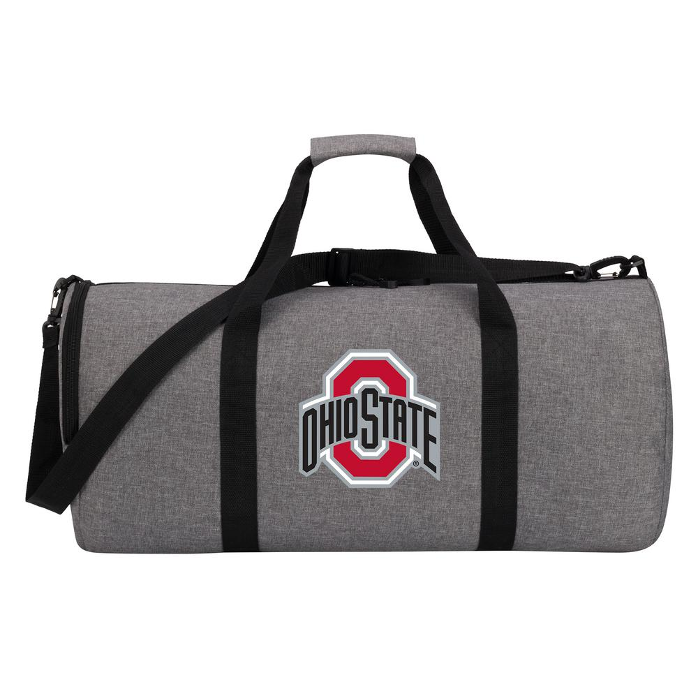 bc93cbf537dc Ohio State Wingman 10 in. Heathered Gray Duffle Bag-C11COLDC6020007RTL -  The Home Depot
