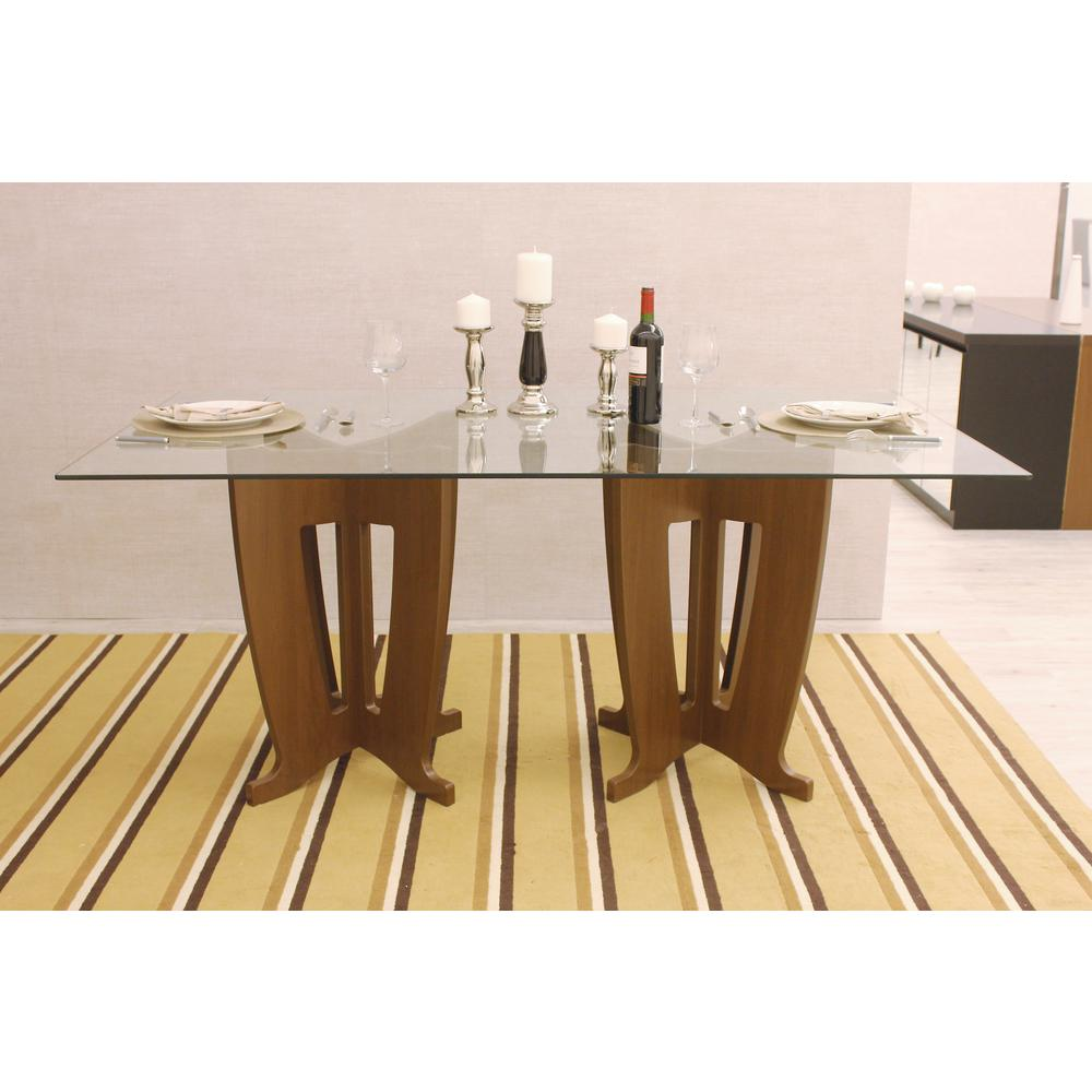36 inund glass table top 38 in thick beveled tempered nut brown sleek tempered glass table top workwithnaturefo