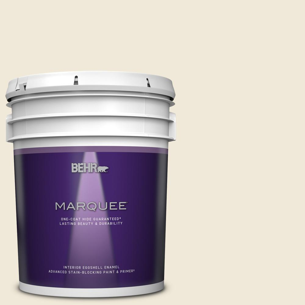 Behr Marquee 5 Gal Or W12 Mourning Dove Eggshell Enamel Interior Paint Primer 245005 The Home Depot