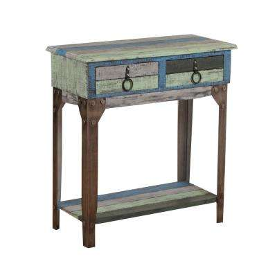 Colorful Calypso Small Console Table