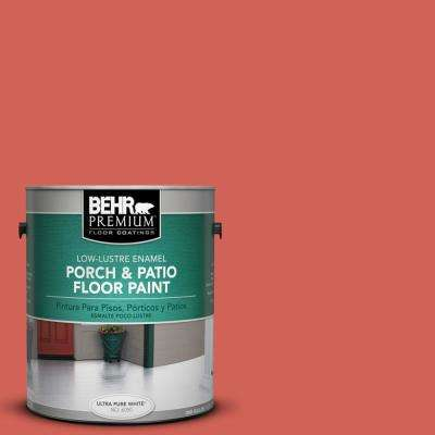 1 gal. Home Decorators Collection #HDC-MD-05 Desert Coral Low-Lustre Interior/Exterior Porch and Patio Floor Paint
