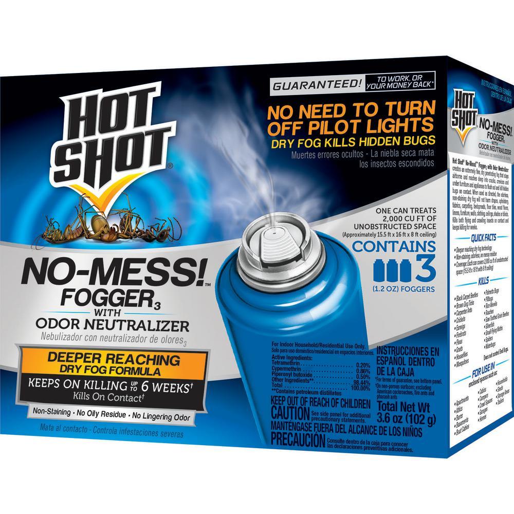 No-Mess Fogger 1.2 oz Aerosol With Odor Neutralizer (3-Count)