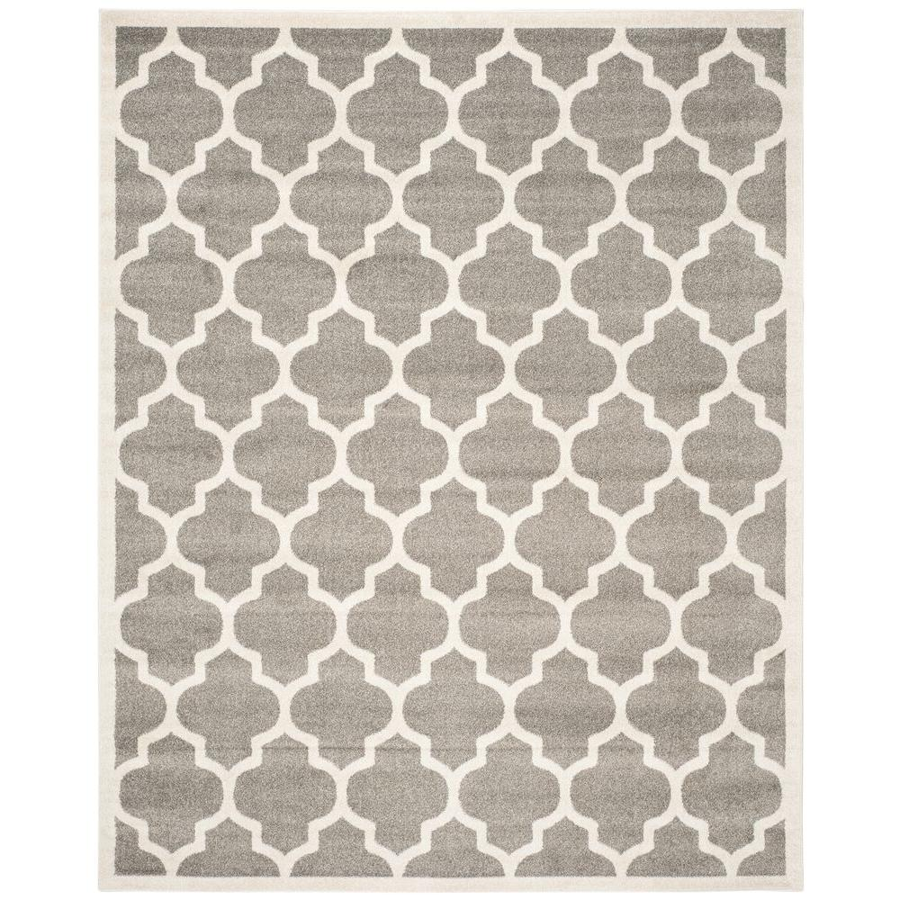 Safavieh Amherst Dark Gray Beige 9 Ft X 12 Ft Indoor Outdoor Area