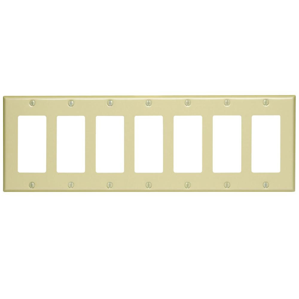 7 gang switch plate | Hardware | Compare Prices at Nextag