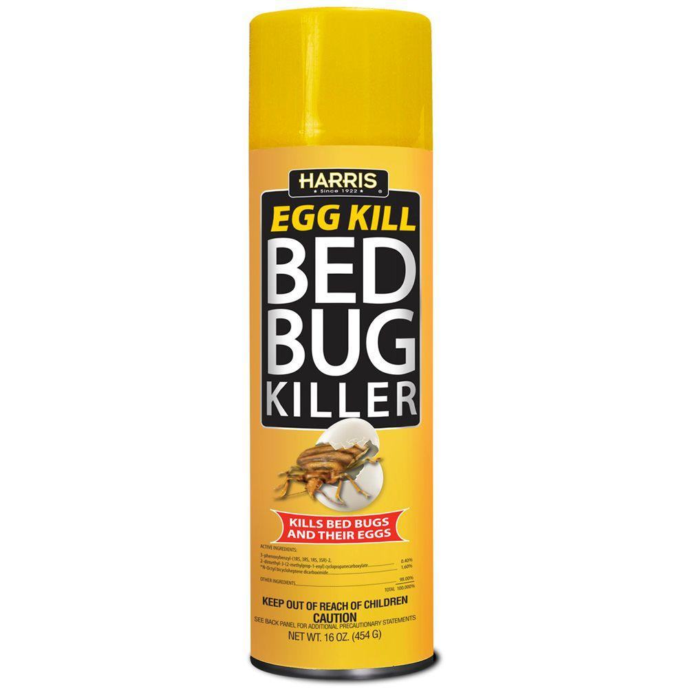 Harris Bed Bug Spray Harris 16 oz. Egg Kill Bed Bug Spray-EGG-16 - The Home Depot
