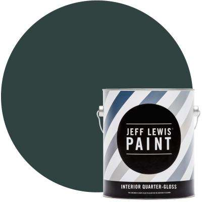 1 gal. #514 Green with Envy Quarter-Gloss Interior Paint