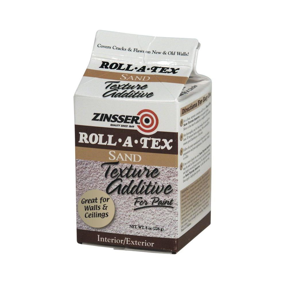 Zinsser 8 oz. Roll-A-Tex Sand Texture Paint Additive (Case of 6)