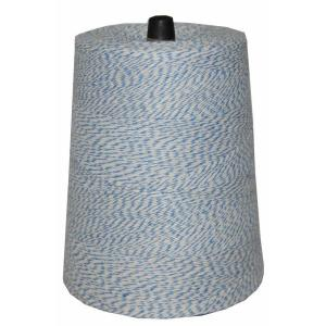 4-Ply 9600 ft. 2 lb. Twine Cone in Variegated Blue and White