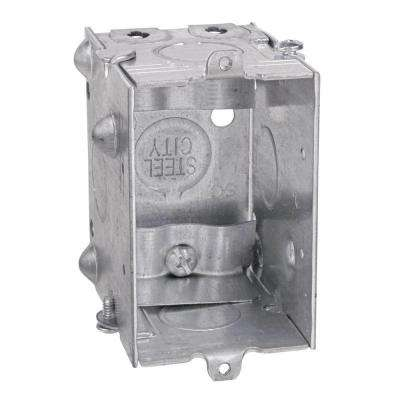 Gang-Able Steel Switch/Outlet Box (25 per Case)