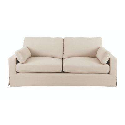 Etonnant Addilyn Linen Jute Sofa