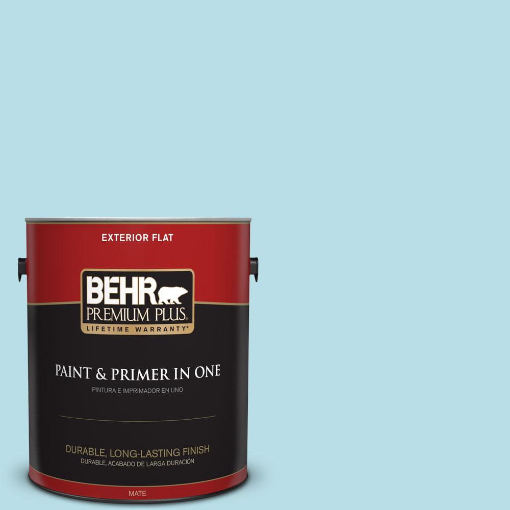 1-gal. #M470-2 Basin Blue Flat Exterior Paint