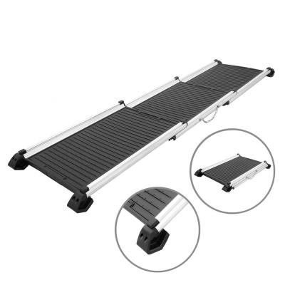 Black 28 in to 62 in Adjustable Pet Ramp