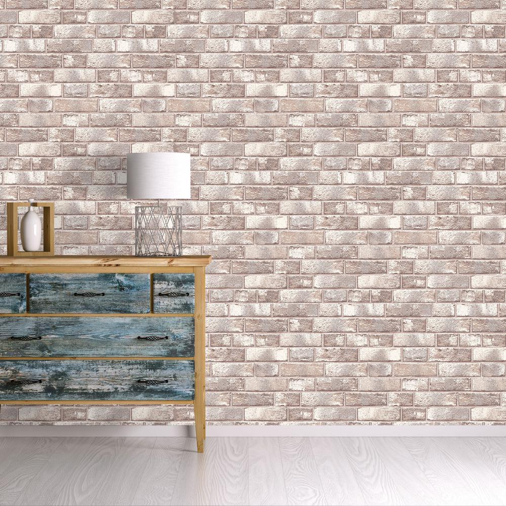 York Wallcoverings Brick Wallpaper-HE1046