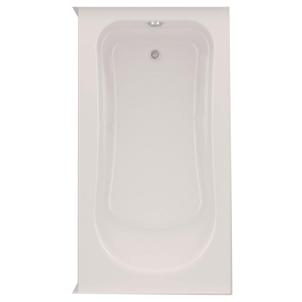 Aquatic Dossi 32 60 in. Acrylic Left Drain Rectangular Alcove ...