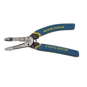 Klein Tools 8 inch Heavy Duty Wire Stripper for 12-20 AWG Stranded and 10-18 AWD Solid... by Klein Tools