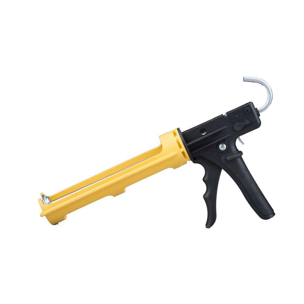 Dripless 10 oz. ETS 3000 Industrial Ergonomic Composite 18:1 Caulk Gun