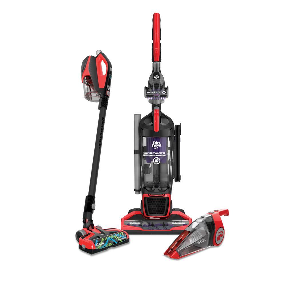 Whole Home Bundle - Hand Vacuum, Stick Vacuum, Upright Vacuum