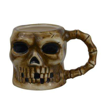 12 oz. Large Skull Ceramic Coffee Mug