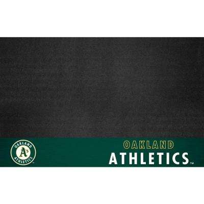 Oakland Athletics 26 in. x 42 in. Grill Mat