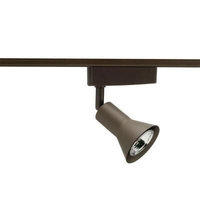 Low-Voltage Flare with Transfer Bronze Track Lighting Head