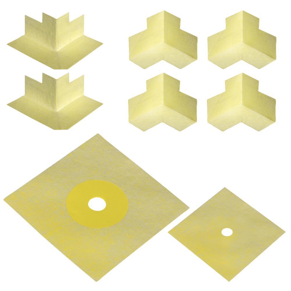 Waterproofing Sealing Kit for Shower Backerboard Underlayment Installation
