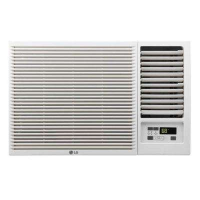 12,000 BTU 230/208-Volt Window Air Conditioner with Cool, Heat and Remote
