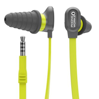 PHONE WORKS Noise Suppressing Earphones with Microphone
