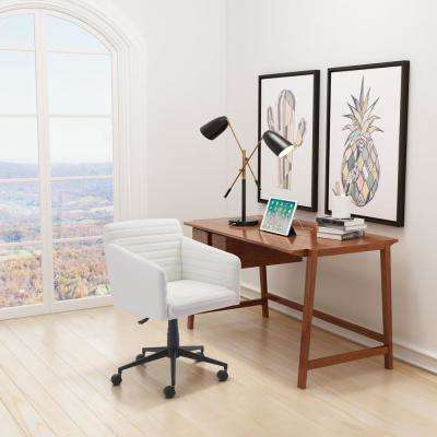 Bronx White Office Chair