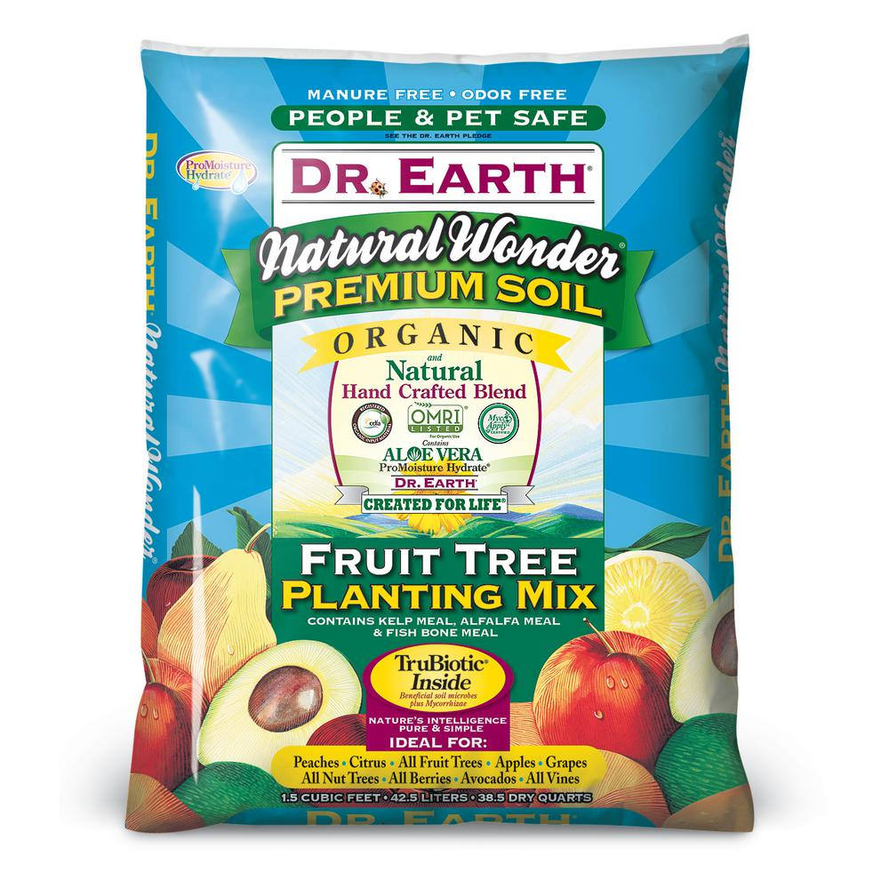 DR. EARTH 1.5 cu. ft. Natural Wonder Fruit Tree Planting Mix