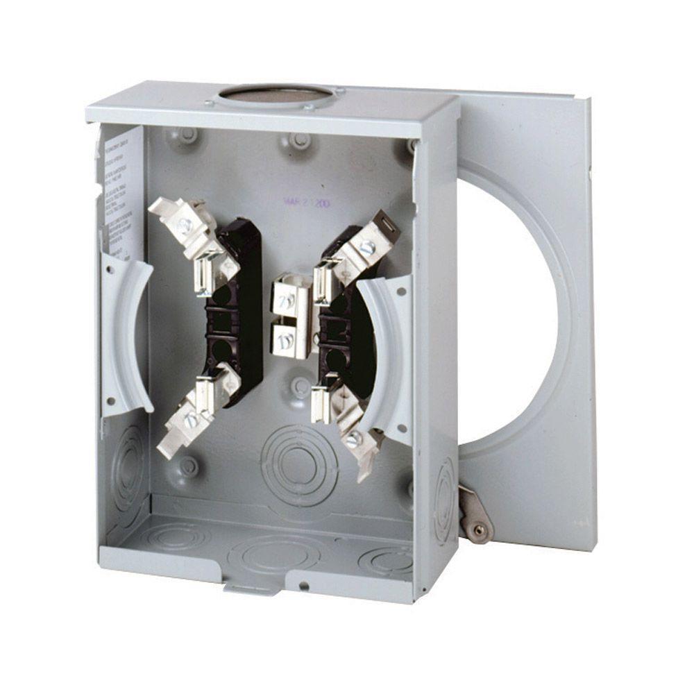 Eaton 125 Amp Overhead Meter Socket