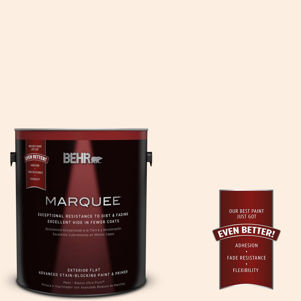 BEHR MARQUEE 1-gal. #BWC-14 Silk Lining Flat Exterior Paint