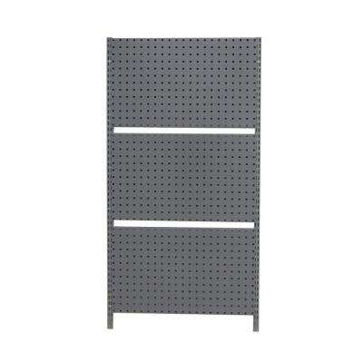 63 in. H x 33 in. W Wall Mount Storage System with 3-Locboard Pegboards