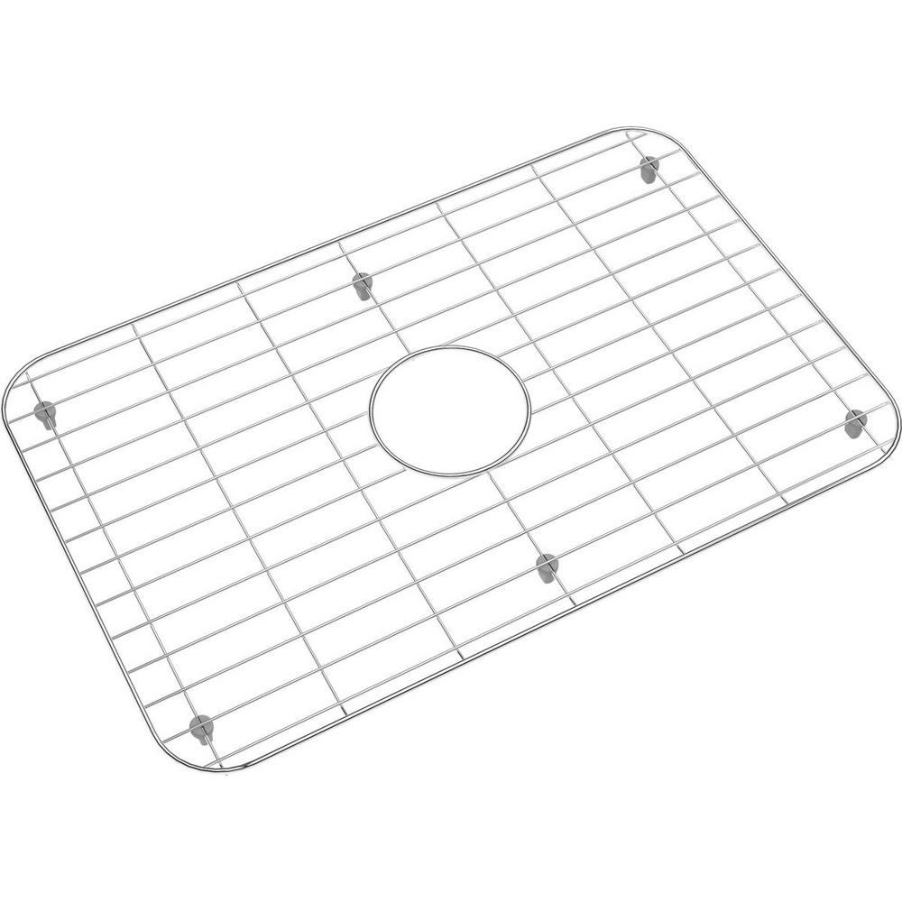 Elkay Stainless Steel Bottom Grid Fit Bowl Size 24 in. x 16 in ...