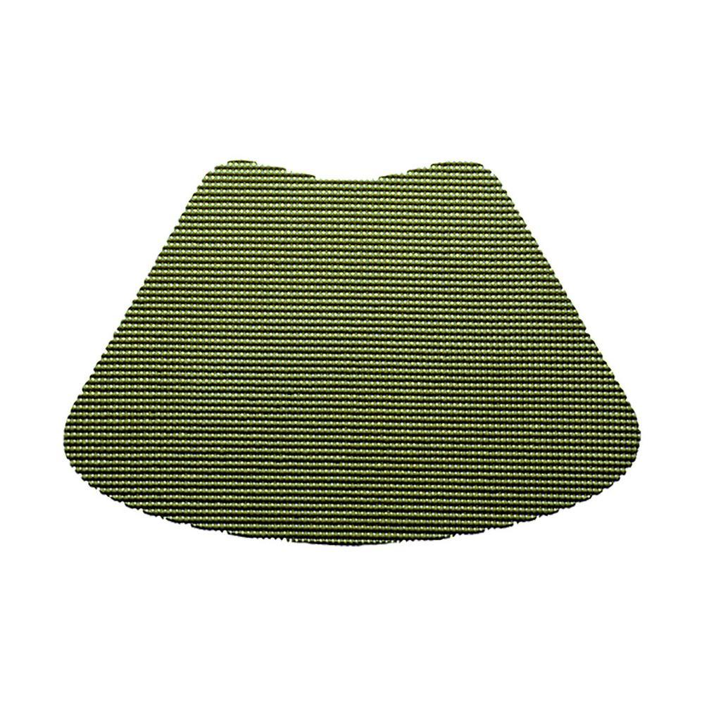 Kale Green Fishnet Wedge Placemat (Set of 12)