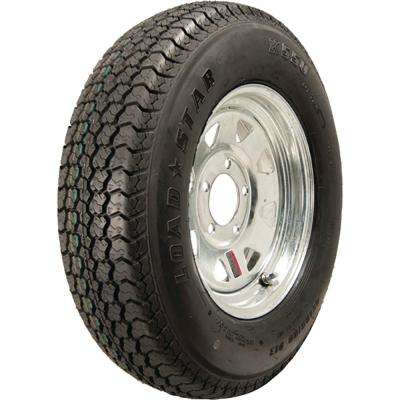 ST175/80D-13 K550 BIAS 1100 lb. Load Capacity Galvanized 13 in. Bias Tire and Wheel Assembly