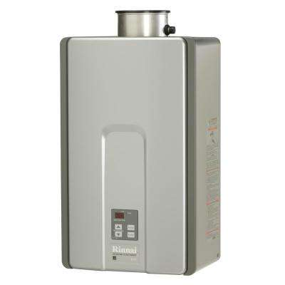 High Efficiency Plus 9.8 GPM Residential 192,000 BTU Natural Gas Interior Tankless Water Heater