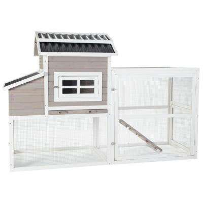 Urban Slate Barn Chicken Coop