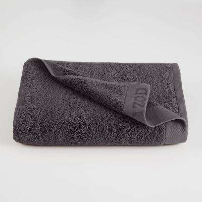 Classic Egyptian Cotton Bath Towel in Night Gray