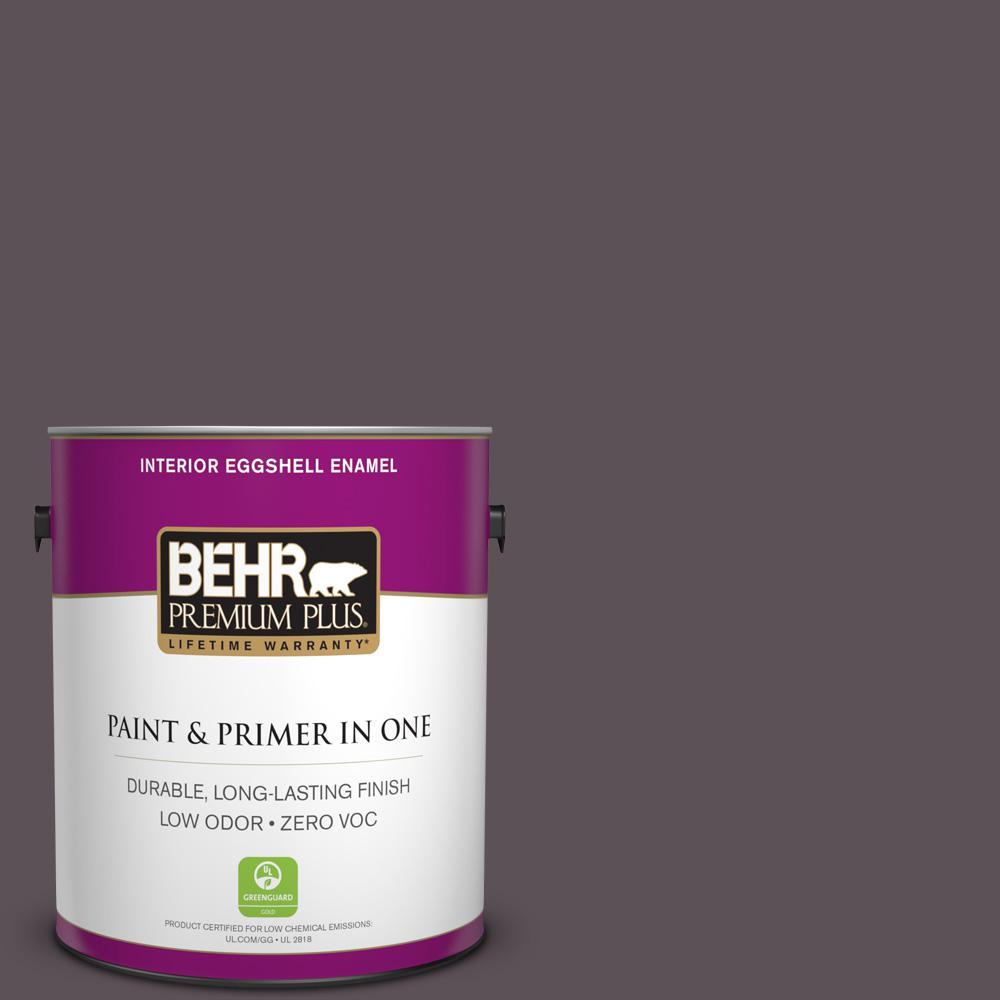BEHR Premium Plus 1-gal. #N570-6 Virtuoso Eggshell Enamel Interior Paint