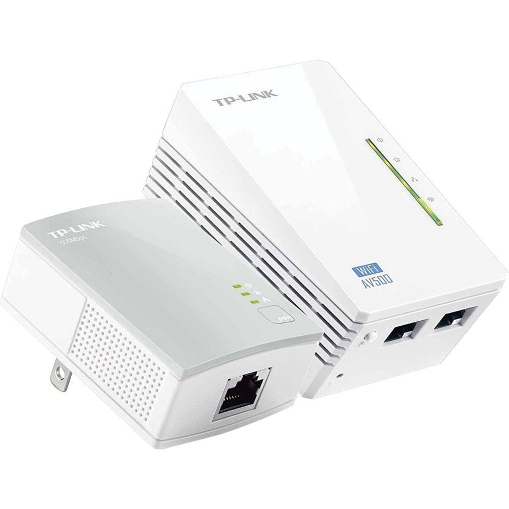 TP-LINK N300 Wi-Fi Range Extender, AV500 Powerline Edition