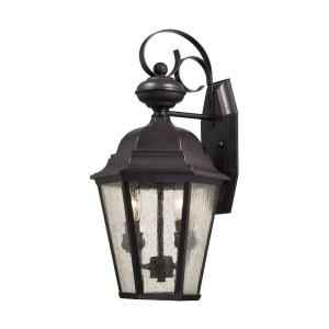 Titan Lighting Cotswold 2-Light Oil Rubbed Bronze Outdoor Wall Lamp by Titan Lighting