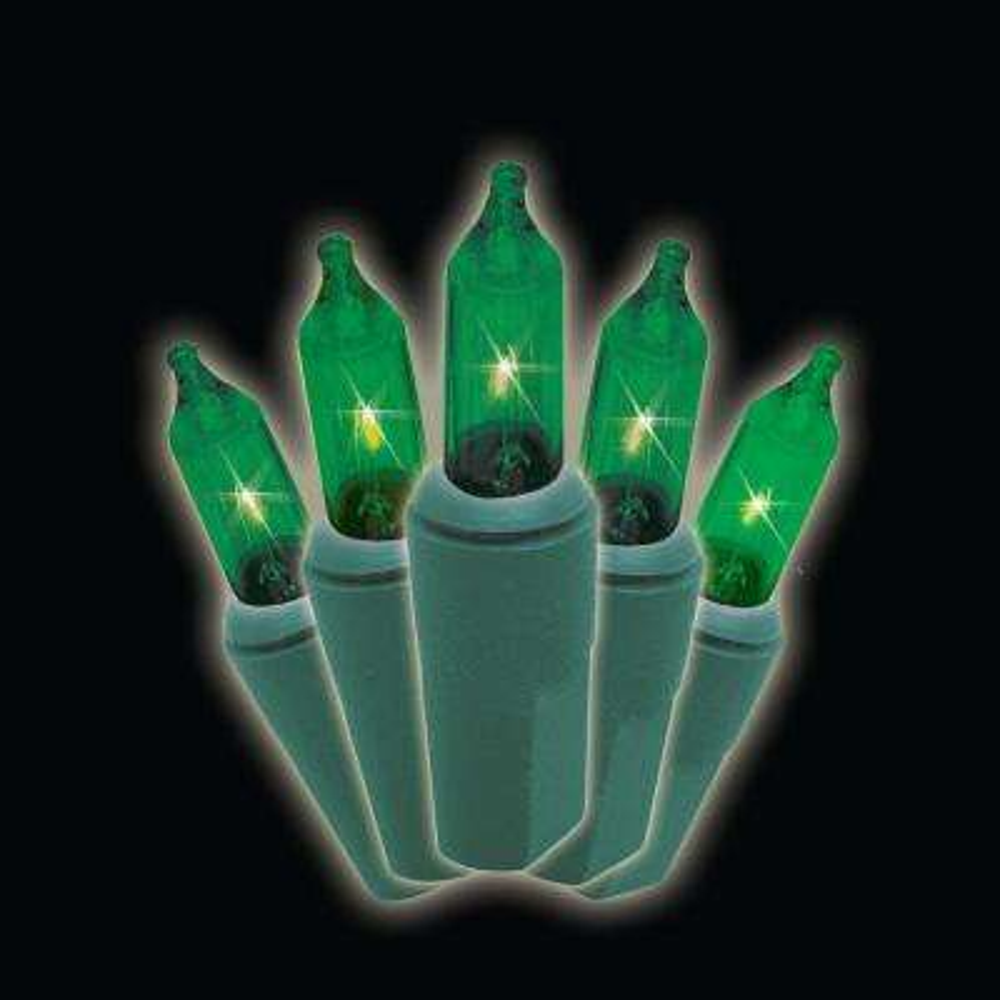 professional series 100 lights green mini light set set of 2