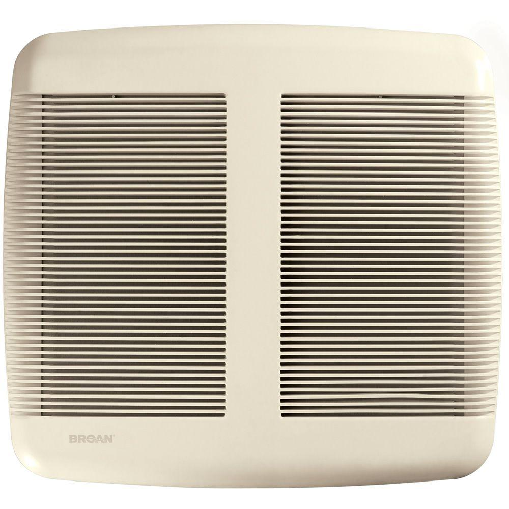 Broan QTR Series Very Quiet 80 CFM Ceiling Exhaust Bath Fan, ENERGY STAR Qualified
