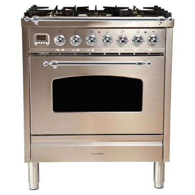 Kucht Pro-Style 36 in  5 2 cu  ft  Natural Gas Range in Stainless