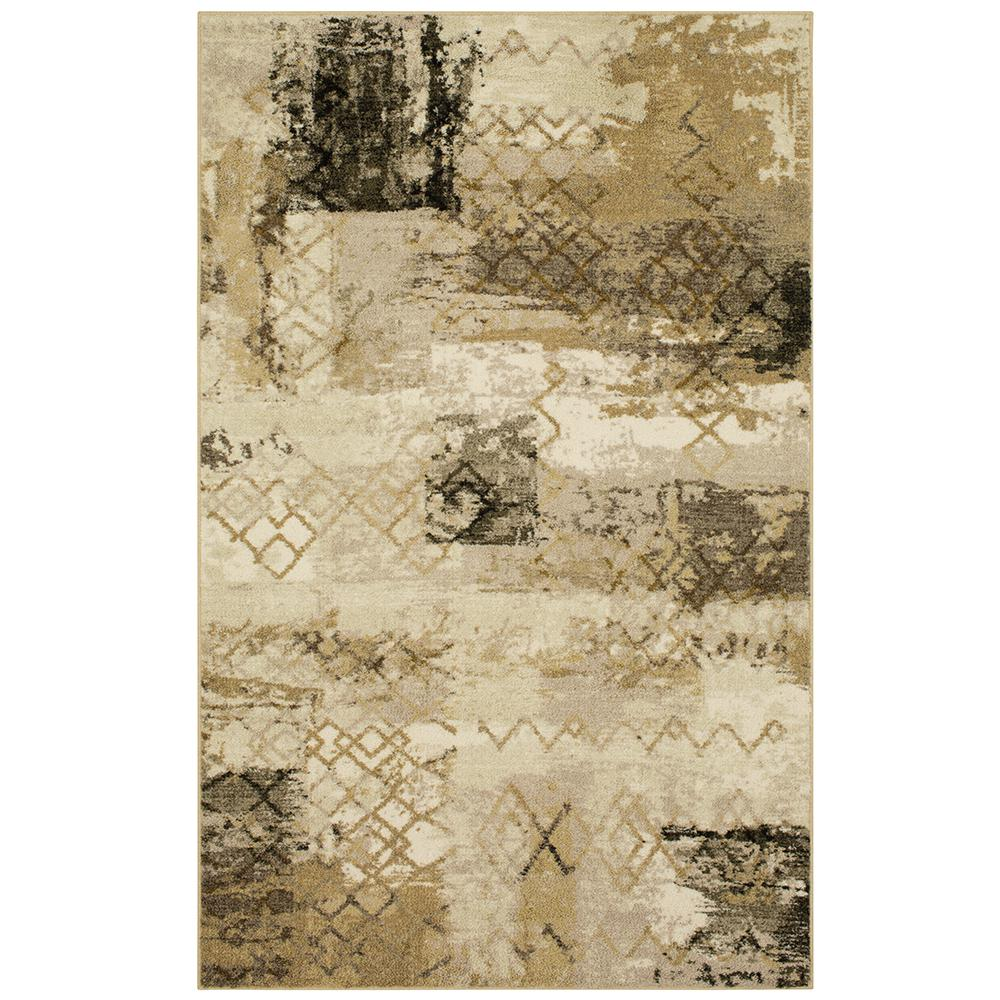 MOHAWKHOME MOHAWK HOME Bazaar Elmont Neutral 5 ft. x 7 ft. Area Rug