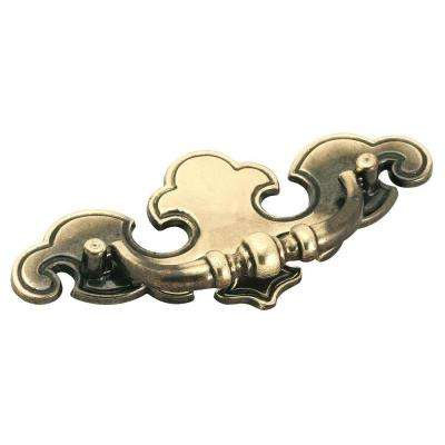 brass 2 3 4 drawer pulls cabinet hardware the home depot